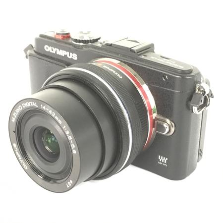 【中古】 OLYMPUS オリンパス E-PL6 Digital 14-42mm 1:3.5 -5.6 ミラー レス 一眼 レンズ キット カメラ 趣味 機器 Y3881783