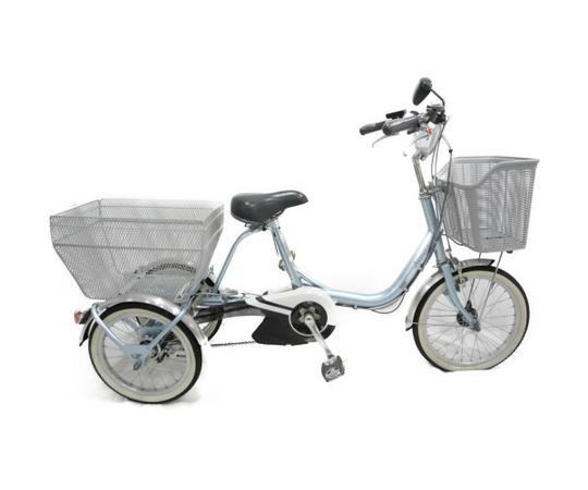 【中古】 【中古】BRIDGESTONE AW114 ブリジストンアシスタワゴン 自転車 三輪車 電動アシスト自転車 【大型】 N3436340