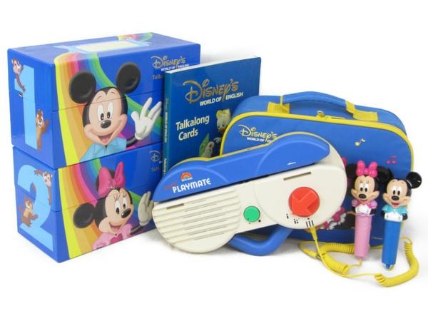 【中古】 ディズニーの英語システム DWE トークアロング 2008年頃 子ども英語 教材 N3990228