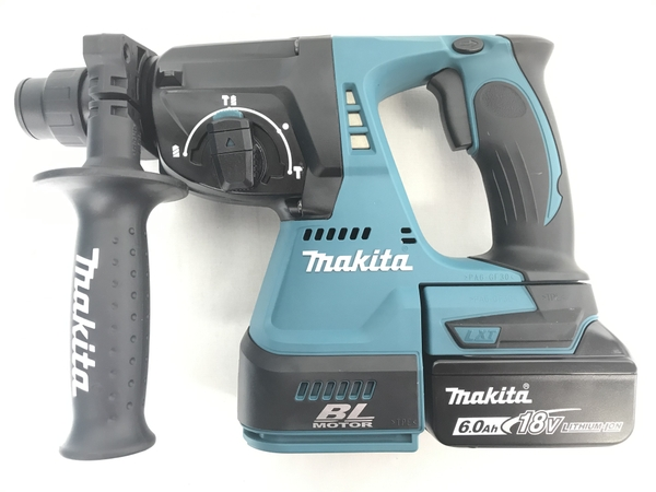 未使用 【中古】makita HR244DRGXV 充電式 ハンマードリル 24mm 集じんシステム 付き 18V マキタ 電動工具 S3905387