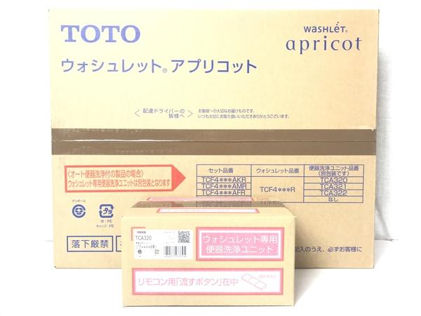 未使用 【中古】TOTO TCF4733AKR (TCF4733R + TCA320) ウォシュレット 温水洗浄便座 #NW1 ホワイト S3904165