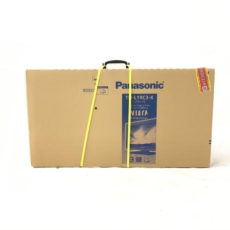 未使用 【中古】 Panasonic パナソニック VIERA ビエラ TH-L19C3-K ブラック 液晶テレビ 19V型 未使用 W3883692