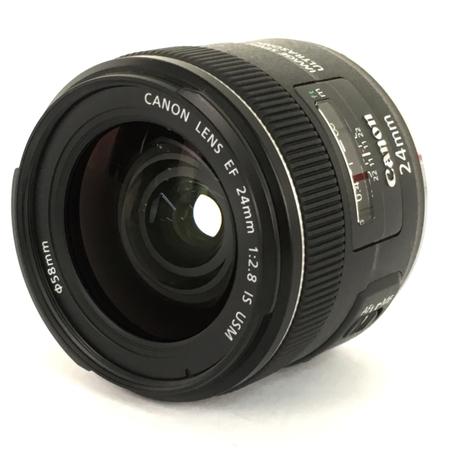 【中古】 Canon キャノン EF 24mm F2.8 IS USM カメラ レンズ 単焦点 趣味 機器 Y3912656