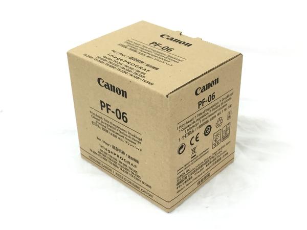 未使用 【中古】 CANON キヤノン 交換用 純正 プリントヘッド PF-06 未使用 T3988393