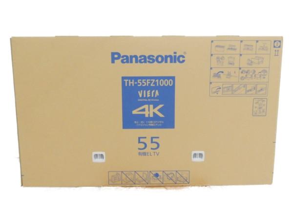 未使用 【中古】 未開封 Panasonic パナソニック VIERA TH-55FZ1000 4K 有機EL 液晶 テレビ 55型 映像 機器 楽直 【大型】 Y3646502