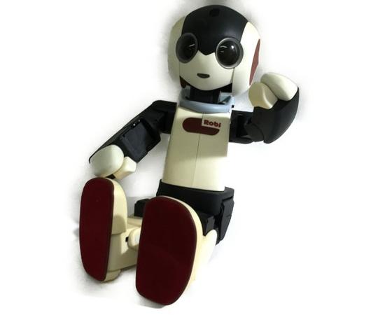 【中古】 DeAGOSTINI デアゴスティーニ Robi ロビ 組立済 完成品 電動 ロボット 中古 訳あり T3554752