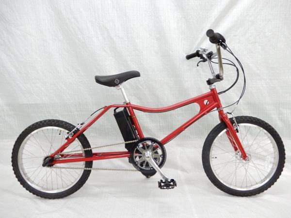 美品 【中古】 The PARK e-bike PBLE BMX キャンディレッド Eアシストバイク 電動 自転車 【大型】 Y3160125