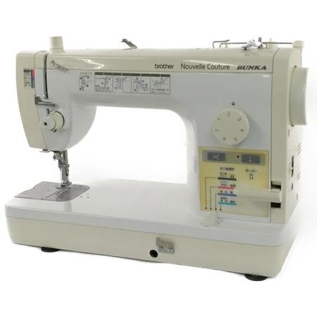 【中古】 brother ブラザー Nouvelle Couture BUNKA TA637 直線縫い ミシン Y3916898