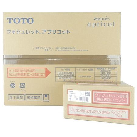 未使用 【中古】 未開封 TOTO TCF4723AKR (TCF4723R+TCA320) ウォシュレット #SC1 Pアイボリー Y3943555