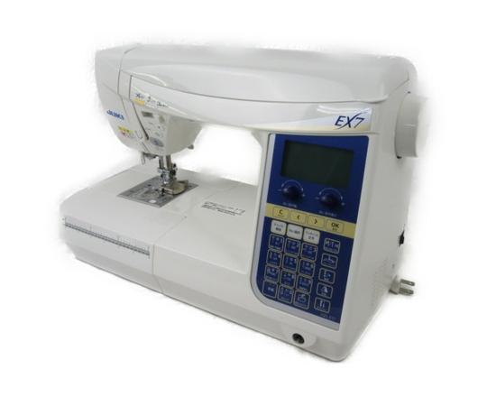 【中古】 JUKI HZL-EX7 家庭用 ミシン 裁縫 家電 N3498407