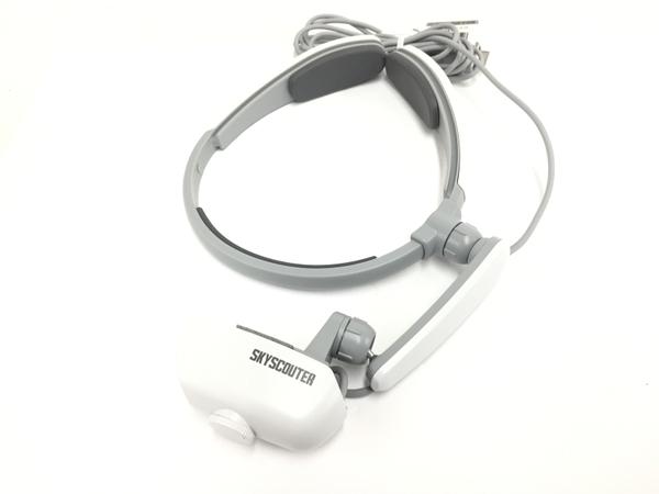 美品 【中古】 SKYROBOT SKYSCOUTER SR-200 業務用 ゴーグル型ディスプレイ ディスプレイ ドローン 周辺機器 遠隔 T3814320