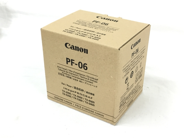未使用 【中古】 CANON キヤノン 交換用 純正 プリントヘッド PF-06 未使用 T3988401