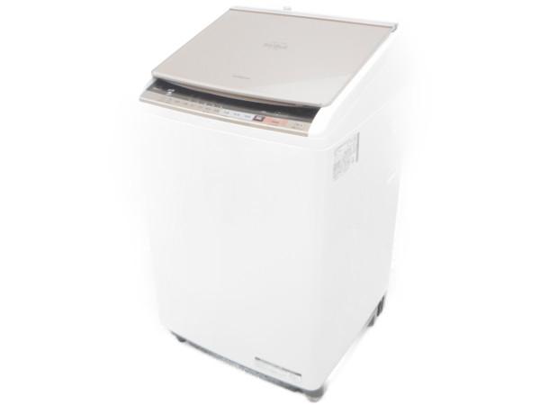 【中古】 【中古】良好 日立 HITACHI BW-DV90B 洗濯乾燥機 ビートウォッシュ ナイアガラビート洗浄 2018年製 家電 【大型】 H3916184