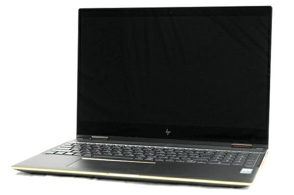【中古】 HP Spectre x360 15-ch012tx 2in1 パソコン PC 15.6型 4K UHD i7-8705G 3.10GHz 16GB SSD1.0TB Win10 Pro 64bit RX Vega T3851512