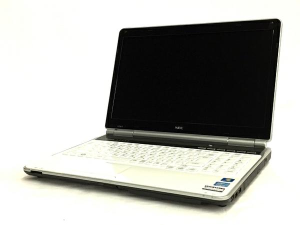 【中古】 NEC LAVIE LL750/FS6W PC-LL750FS6W ノート パソコン PC 15.6型 i7 2670QM 2.2GHz 8GB HDD750GB Win7 Home 64bit クリスタルホワイト T3330516