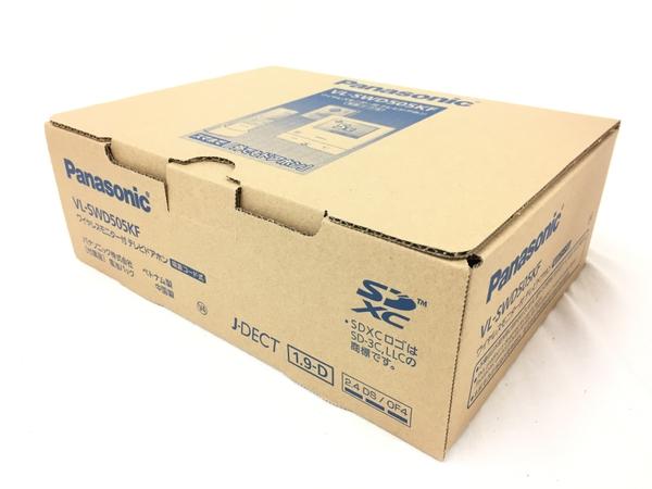 未使用 【中古】 Panasonic VL-SWD505KF ワイヤレスモニター付 テレビドアホン 未使用 T3707760