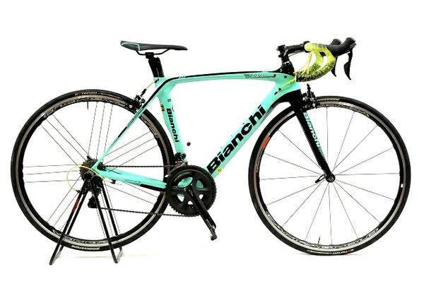 【中古】 Bianchi OLTRE XR3 オルトレ 2018年モデル ロードバイク 105コンポーネント Campagnolo Zonda ホイール装備  T4334557