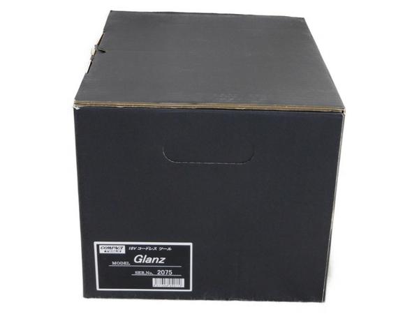 未使用 【中古】 コンパクトツール Glanz コードレス ポリッシャー 18V グランツ N3560710