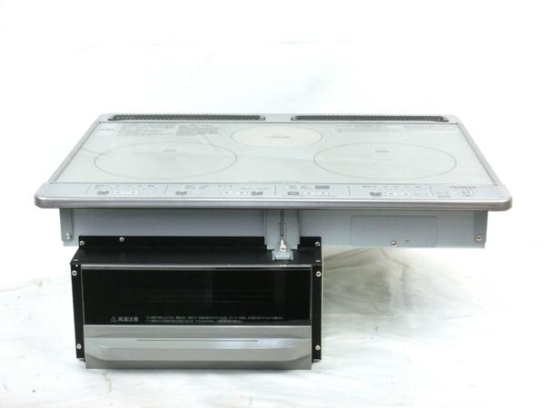 美品 【中古】 美品 日立 HITACHI HT-K60S ビルトイン IHクッキングヒーター M3943707
