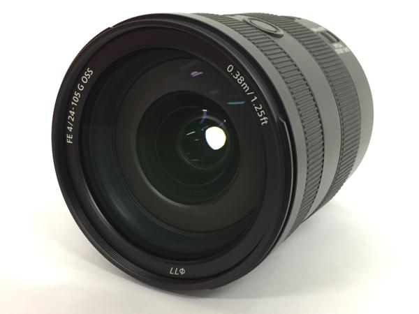 【中古】 SONY α デジタル 一眼 カメラ用 SEL24105G FE 24-105mm F4 G OSS 高性能 ズーム レンズ Eマウント T3540039
