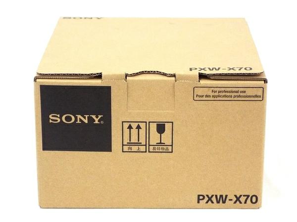美品 【中古】 SONY ソニー 業務用 ビデオカメラ PXW-X70 XDCAM メモリーカムコーダー T3376158