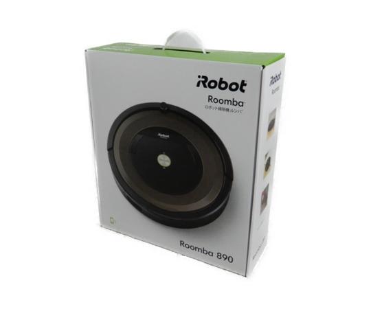 未使用 【中古】 未開封 iRobot ロボット掃除機 ルンバ Roomba 890 R890060 K3590882