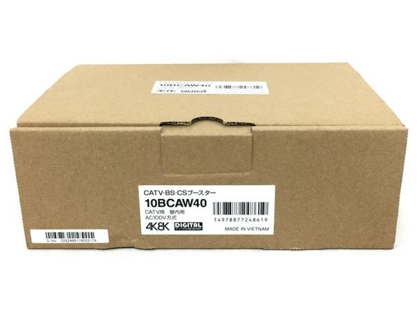 未使用 【中古】 マスプロ 共同受信用 CATV・BS・CSブースター 10BCAW40 T3873554