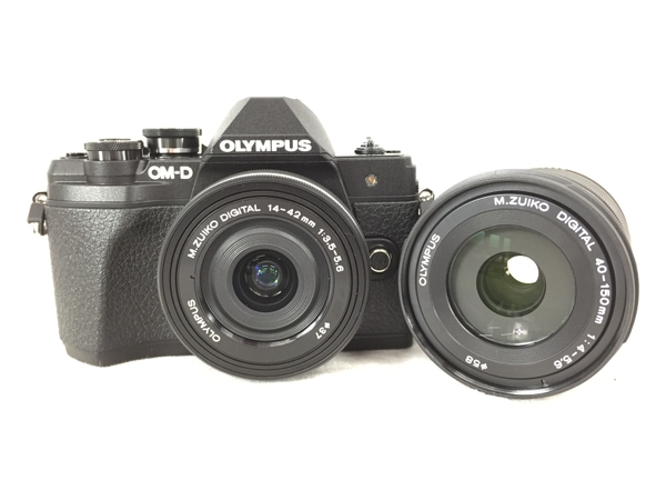 美品 【中古】 OLYMPUS オリンパス ミラーレス一眼カメラ エリート OM-D E-M10 MARK III EZダブルズーム S4541277