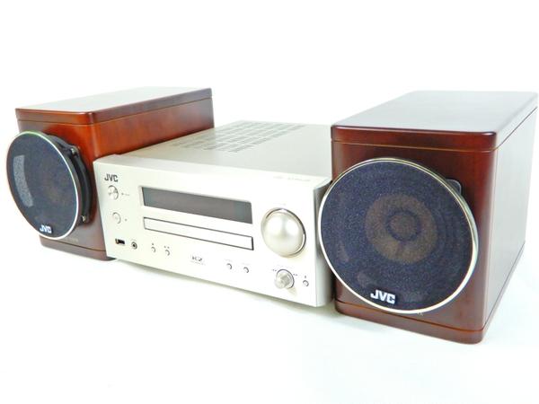 Victor JVC EX-HR5 ウッドコーン システムコンポ 音響機材 2016年製  K2697061:ReRe(安く買えるドットコム)