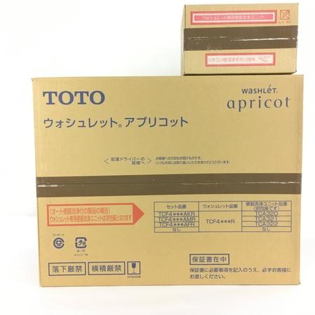 未使用 【中古】 TOTO TCF4723AKR TCF4723R TCA320 ウォシュレット アプリコット #NW1 ホワイト 未使用 Y4100995