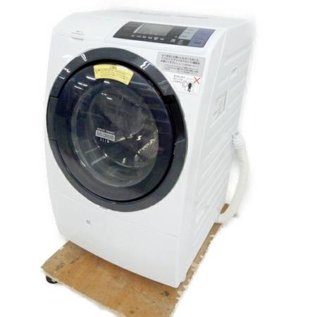 【中古】 日立 ビッグドラム BD-SG100BL 洗濯 乾燥機 ドラム式 洗濯機 10Kg 18年製 左開き 家電 楽直 【大型】 Y3780830