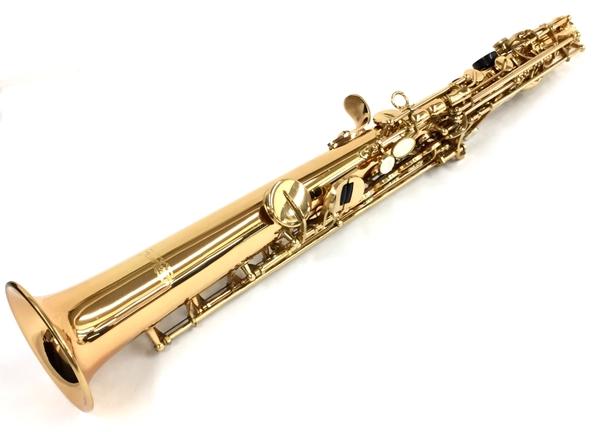 【中古】 ソプラノサクソフォン soprano saxophone サクソフォン ゴールド 1710 中古 良好 T3791822