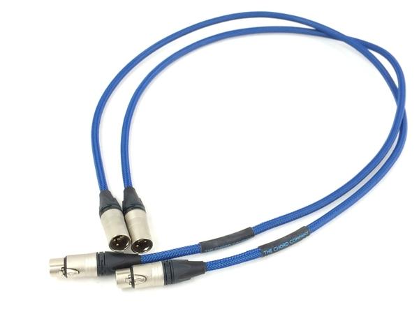 メーカー公式 中古 CHORD CADENZA XLR 1.0m 音響機器 未使用品 ペア XLRケーブル T5874791