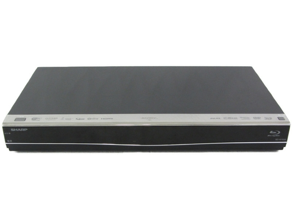 【中古】 SHARP シャープ AQUOS ブルーレイ BD-W1600 BD ブルーレイ レコーダー 1TB ブラック 2014年製 N3877400