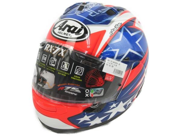美品 【中古】 Arai アライ RX-7X HAYDEN ヘイデン シリーズ 61 62cm ヘルメット N3919793