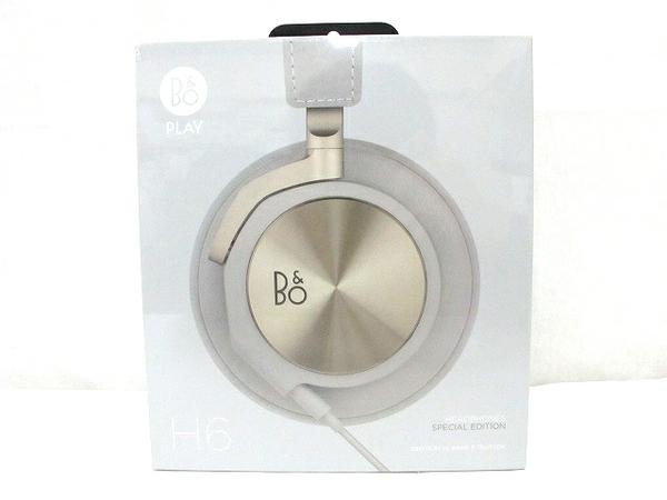 未使用 H6【中古】 Bang & Bang & Olufsen バングアンドオルフセン Beoplay H6 2nd generation Champagne Grey ヘッドフォン T3799134, アンティークそっくり:ca81a2f6 --- officewill.xsrv.jp