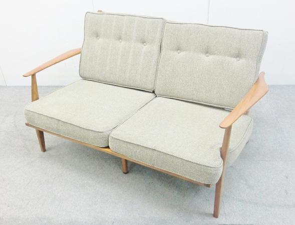 【中古】 ACME Furniture アクメファニチャー DELMAR SOFA デルマー ソファ 2P 家具 O2691626