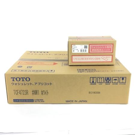 未使用 【中古】 TOTO TCF4723AKR (TCF4723R+TCA320) ウォシュレット アプリコット #NW1 ホワイト Y3896973