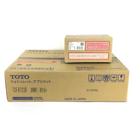 未使用 【中古】 TOTO TCF4723AKR (TCF4723R+TCA320) ウォシュレット アプリコット #NW1 ホワイト Y3904727