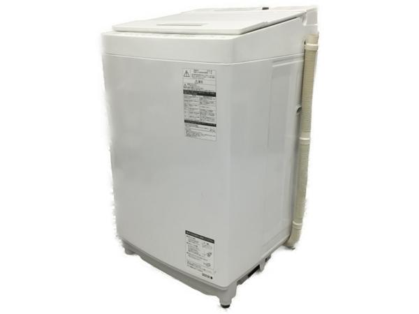 【中古】 TOSHIBA ZABOON AW-8D6 2018年製 8kg 全自動洗濯機 東芝 ザブーン 家電 【大型】 N5117603
