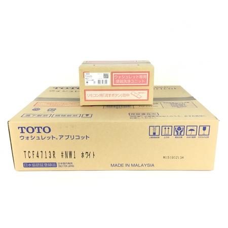 未使用 【中古】 TOTO TCF4713AKR TCF4713R TCA320 #NW1 ホワイト ウォシュレット Y3904733