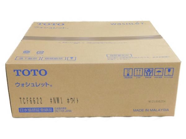 未使用 【中古】 温水洗浄便座 TOTO ウォシュレット TCF6622 #NW1 ホワイト N3495415