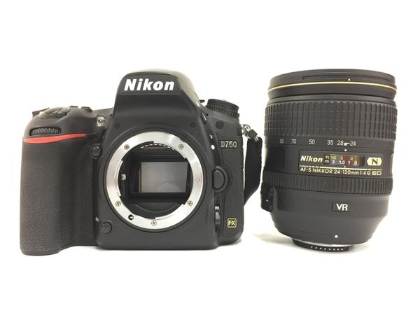【中古】 Nikon ニコン D750 VRレンズキット AF-S NIKKOR 24-120mm 1:4 G ED VR 一眼レフ カメラ T3903951