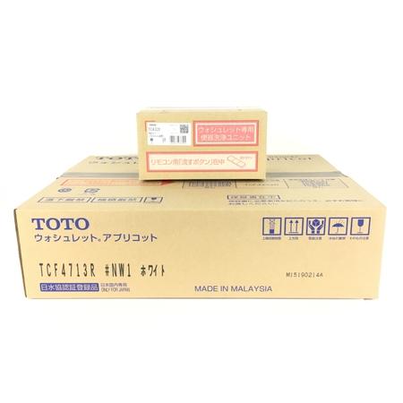未使用 【中古】 TOTO TCF4713AKR TCF4713R TCA320 #NW1 ホワイト ウォシュレット Y3904735