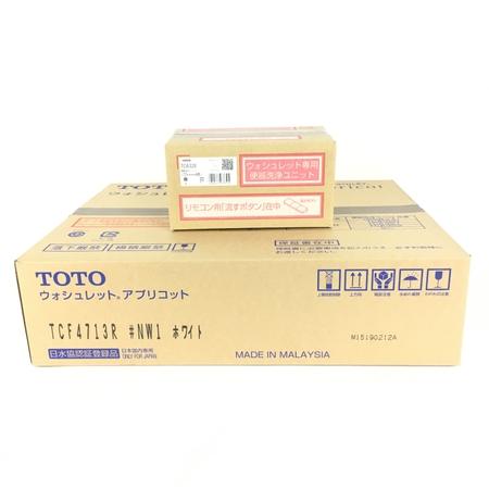 未使用 【中古】 TOTO TCF4713AKR TCF4713R TCA320 #NW1 ホワイト ウォシュレット Y3904737