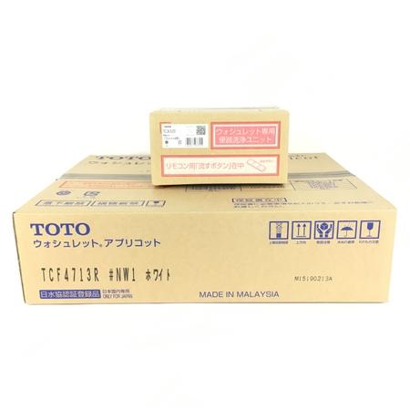 未使用 【中古】 TOTO TCF4713AKR TCF4713R TCA320 #NW1 ホワイト ウォシュレット Y3896974