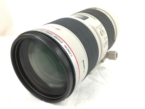 【中古】 Canon zoom lens EF 70-200mm 1:2.8 L IS USM EF70-200L カメラ 一眼レフ 望遠 レンズ 中古 T3954067