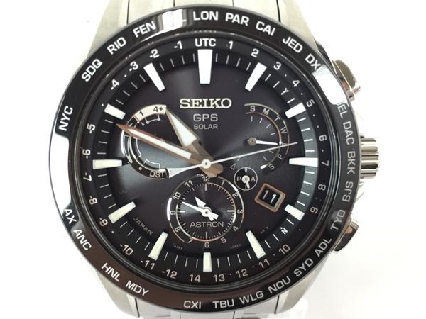 未使用 【中古】 SEIKO ASTRON セイコー アストロン SBXB077 8X53-0AD0 ソーラーGPS メンズ 腕時計 T3900570
