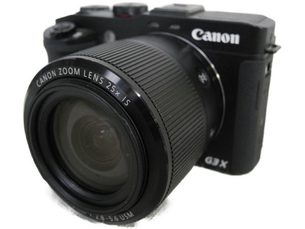 【中古】 中古 CANON PowerShot G3 X コンデジ カメラ ブラック N3500960