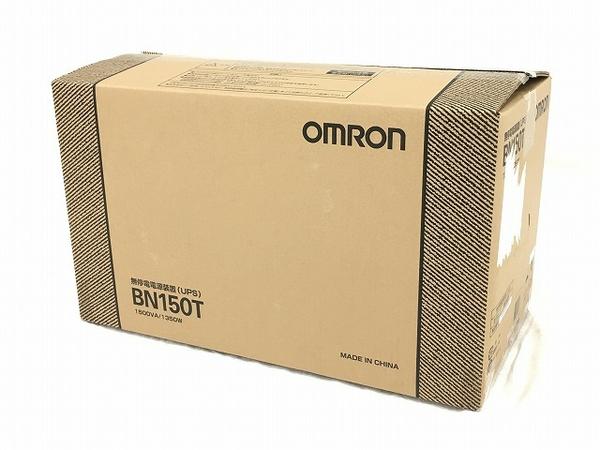 未使用 【中古】 オムロン 無停電電源装置 BN150T 据置型 W3714056